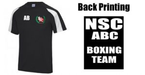 NSC Adults Smelters Boxing Contrast T-Shirt